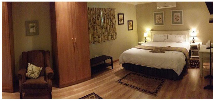 Rooms at Villa Botanica